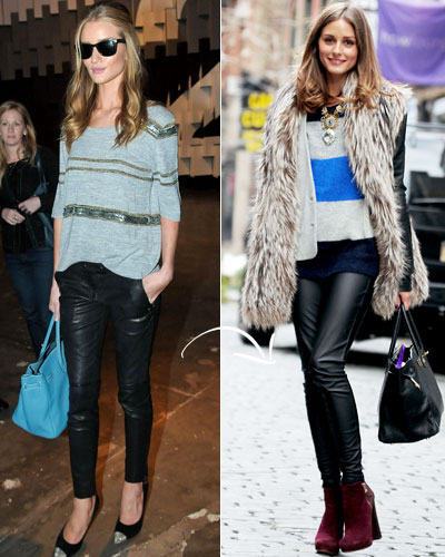 Double-Duty Pieces - Fall Fashion - Rosie Huntington-Whiteley - Elizabeth and James - Olivia Palermo - Daryl K