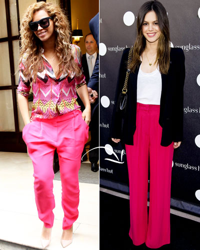 Double-Duty Pieces - Fall Fashion - Beyonce Knowles - Vionnet - Rachel Bilson - Isabel Marant