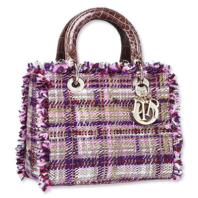 Dior - tweed handbag - we're obsessed