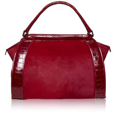 Donna Karan - handbag - red- we're obsessed