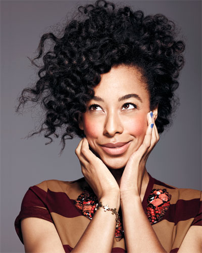 Corinne Bailey Rae hair,