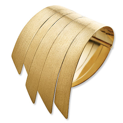 H stern - gold- cuff - we're obsessed