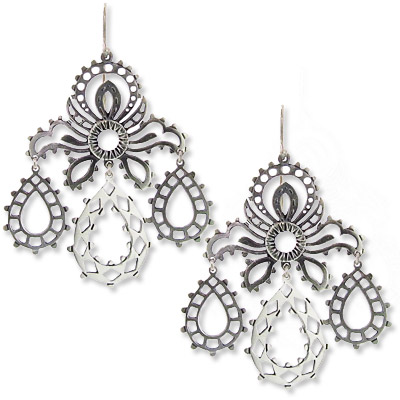 Laurent Gandini Girandole Earrings - we're obsessed