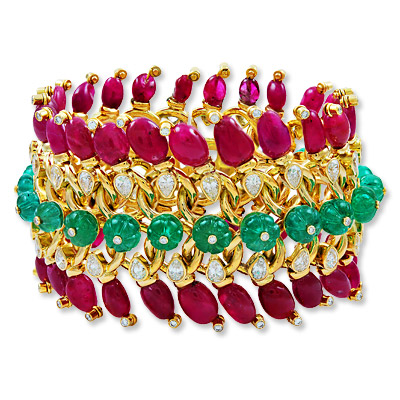David Webb - bracelet - we're obsessed
