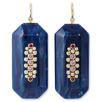 Mark Davis - earrings - we're obsessed