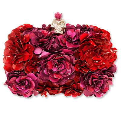 Alexander McQueen - clutch - we're obsessed