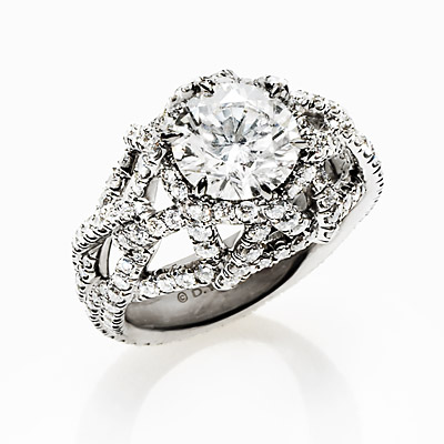 David Yurman - engagement ring - we're obsessed