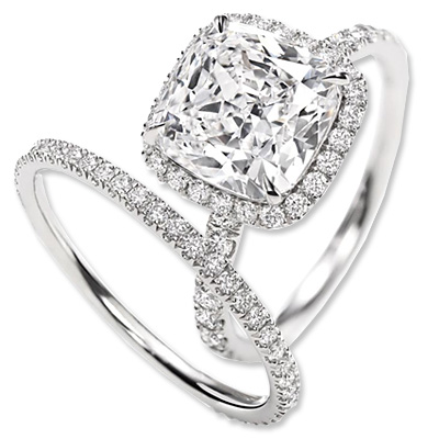 Harry Winston - diamond - engagement ring - we're obsessed