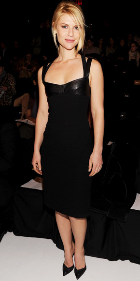 Claire Danes in Narciso Rodriguez