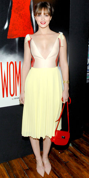 Leighton Meester in Prada