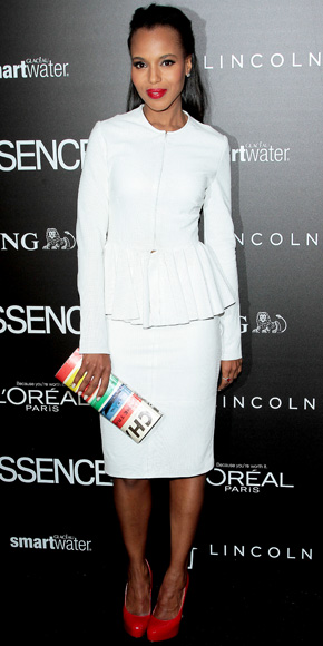 Kerry Washington in Cushnie et Ochs