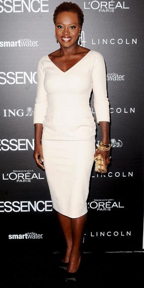 Viola Davis in Victoria Beckham