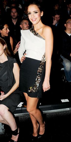 Jessica Alba in Lanvin
