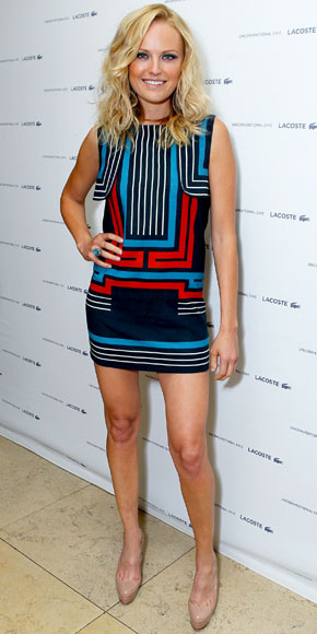 Malin Akerman in Lacoste