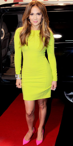 Jennifer Lopez wearing Michael Kors