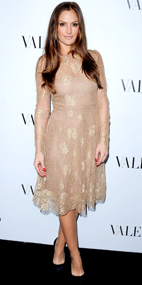 Minka Kelly in Valentino
