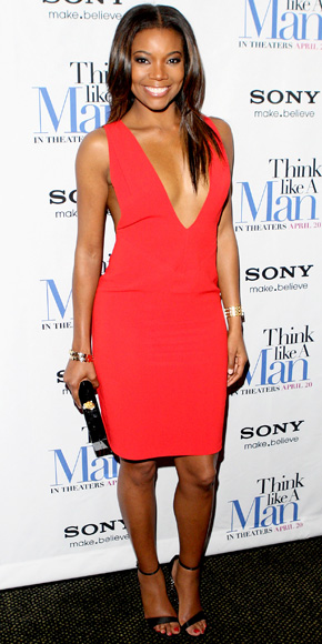 Gabrielle Union in Bill Blass