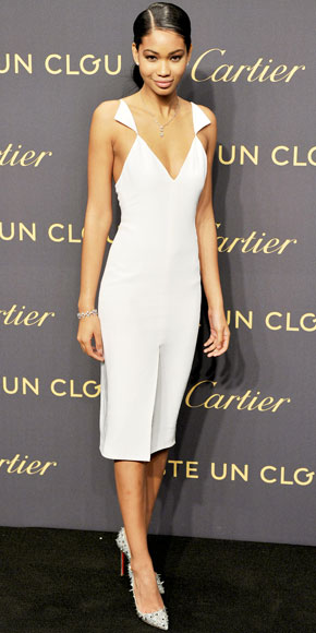 Chanel Iman in Cushnie et Ochs