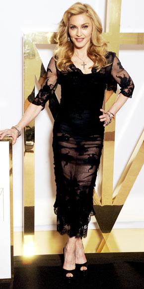 Madonna in Dolce & Gabbana