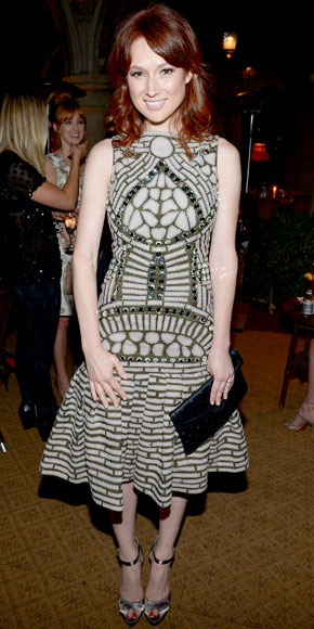 Ellie Kemper in Naeem Khan