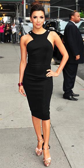 Eva Longoria in Victoria Beckham