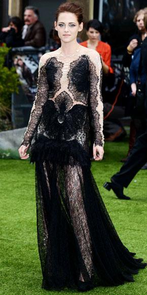 Kristen Stewart in Marchesa