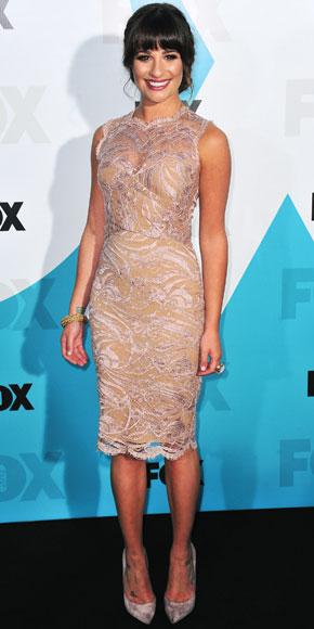 Lea Michele in Emilio Pucci