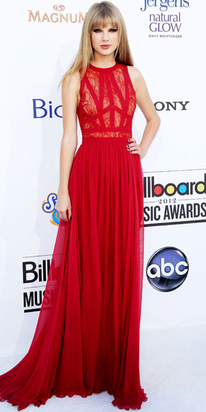 Taylor Swift red dress