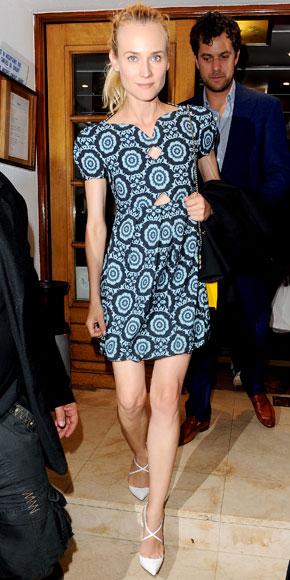 Diane Kruger in Christian Louboutin