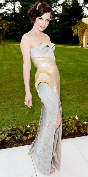 Milla Jovovich in Versace