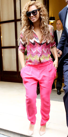 Beyonce in Carven