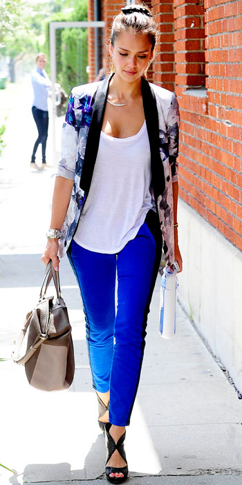 Look of the Day photo | Jessica Alba