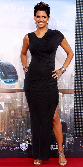 Halle Berry in Helmut Lang