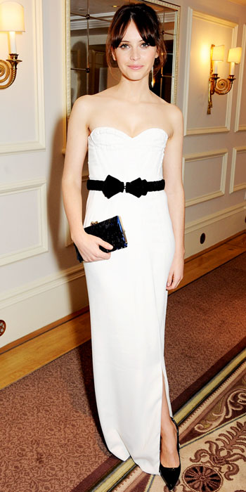 Look of the Day photo | Felicity Jones