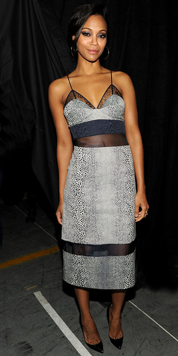 Look of the Day photo | Zoe Saldana