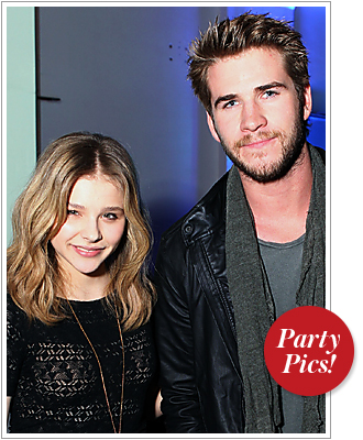 Chloe Mortez, Liam Hemsworth