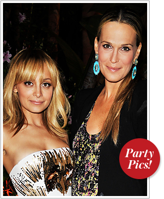 Nicole Richie, Molly Sims, QVC