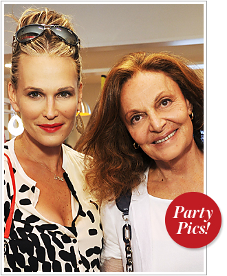Molly Sims, Diane von Furstenberg