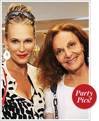 Molly Sims, Diane von Furstenberg