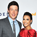 Glee's Naya Rivera and Cory Monteith Celebrate GLAAD and More!