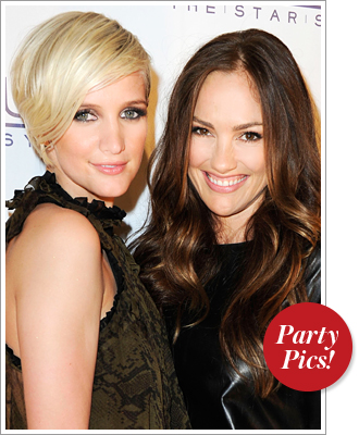 Ashlee Simpson and Minka Kelly