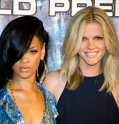 Rihanna, Brooklyn Decker