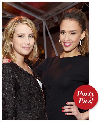 Jessica Alba, Emma Roberts