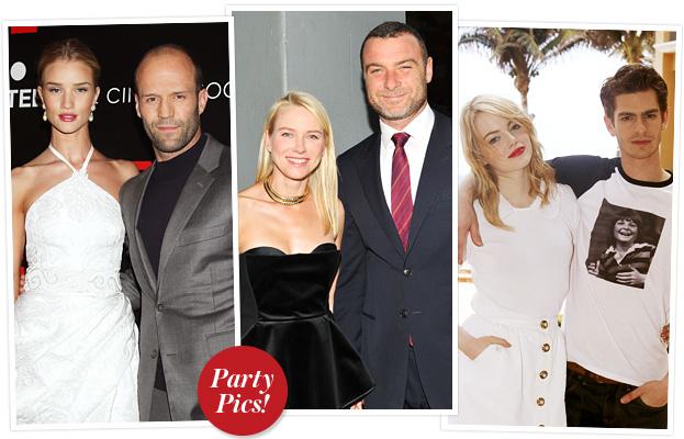 Couples, Naomi Watts, Emma Stone, Andrew Garfield