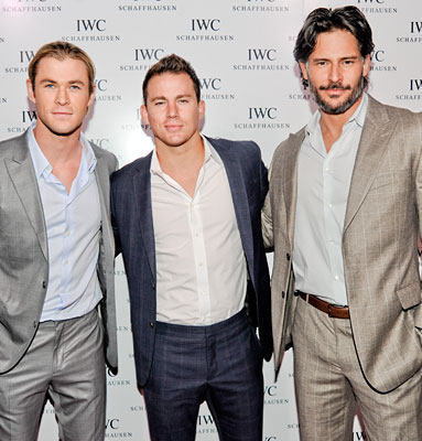 Chris Hemsworth, Channing Tatum, Joe Manganiello