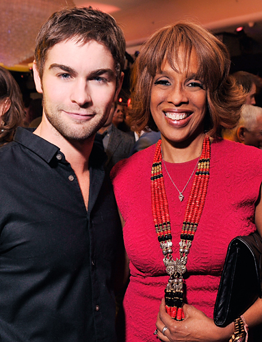 Chace Crawford, Gayle King