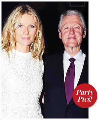 Gwyneth Paltrow, Bill Clinton