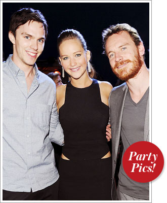 Jennifer Lawrence, Parties