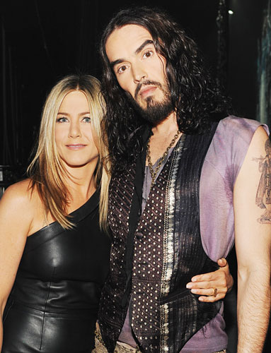 Jennifer Aniston, Russell Brand