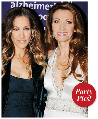 Sarah Jessica Parker and Jane Seymour